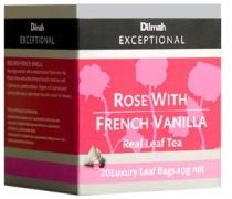 42010146 Dilmah帝瑪 法式香草玫瑰茶 (三角立體茶包) (20入)
